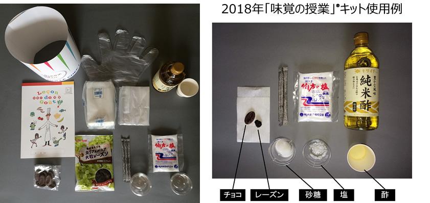 2018年「味覚の授業」キット