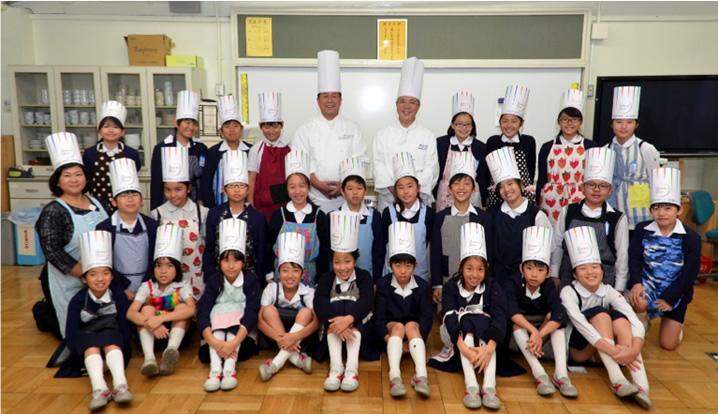 中央区立泰明小学校 5年生